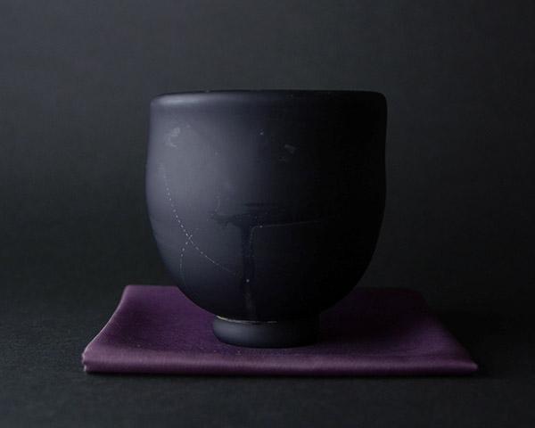 硝子茶碗 鯉江良二