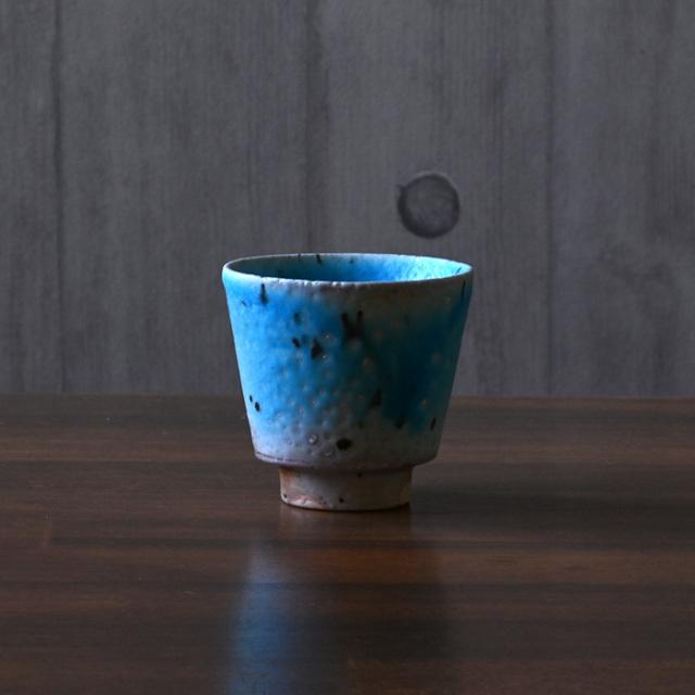 青抹茶茶碗 作家山田想