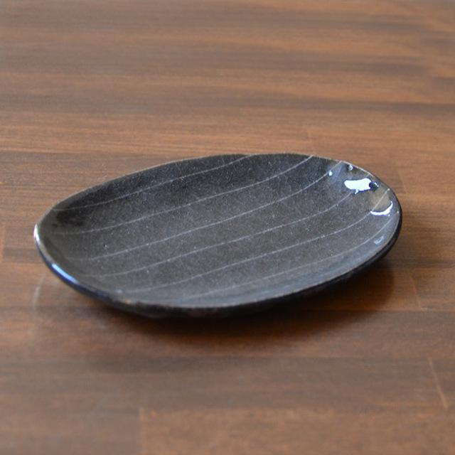 鼠志野 小皿