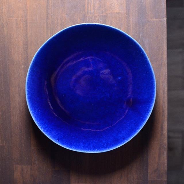 和食器 瑠璃釉皿 作家「佐々木好正」