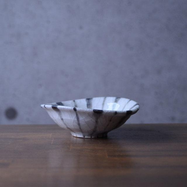 和食器 長石釉十草沓形小鉢 作家「佐々木好正」