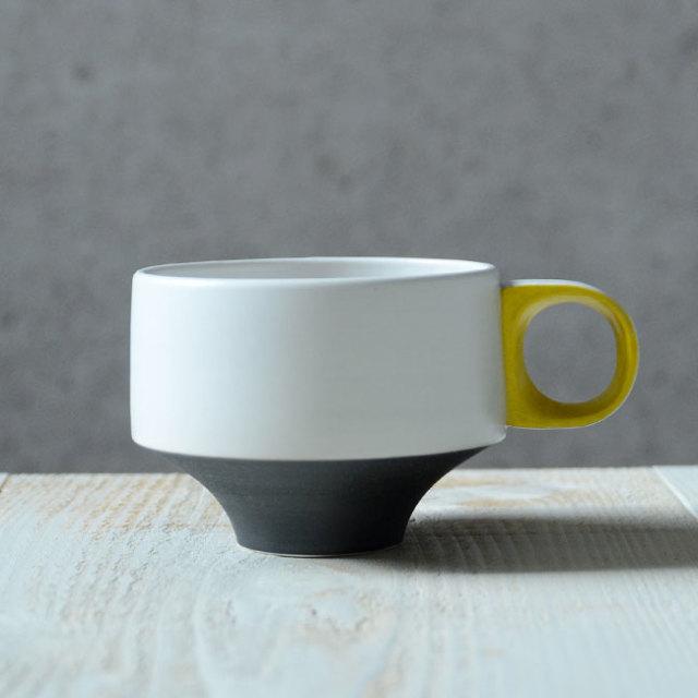 Color cup(黒黄) 作家「山本壮平」