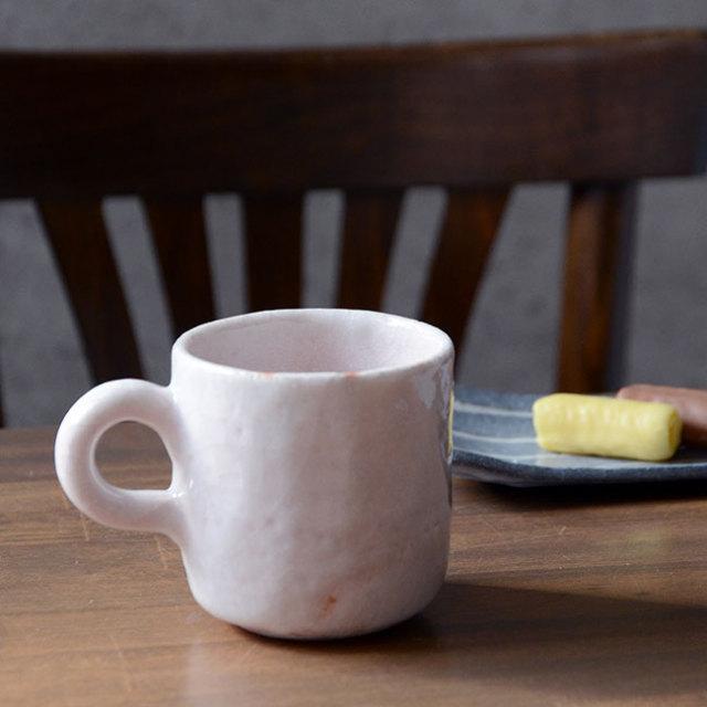 和食器 白志野マグカップ 作家「林健人」