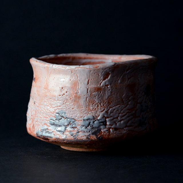 和食器 絵志野茶碗(共箱付no.1) 作家「林健人」