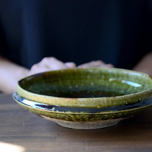 和食器 大和織部平鉢(M) 作家「金本卓也」