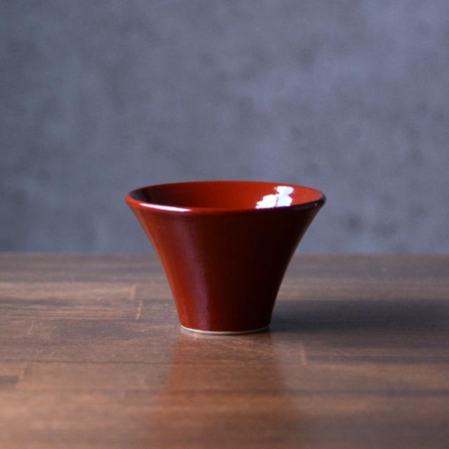 和食器 赤絵酒盃 作家「森野知子」