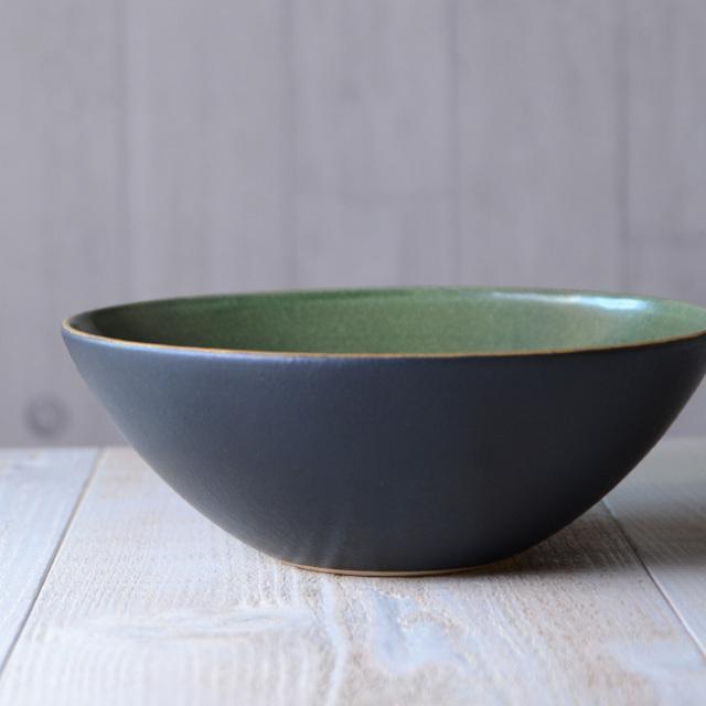 和食器 ノルウェーの森大鉢 作家「森野知子」