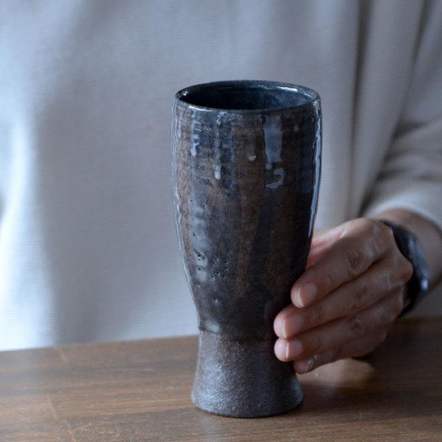 灰釉ワインカップ 作家「木村貴史」