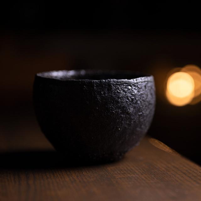 黒丸碗-11.5cm-(TY-223) 作家「横山拓也」
