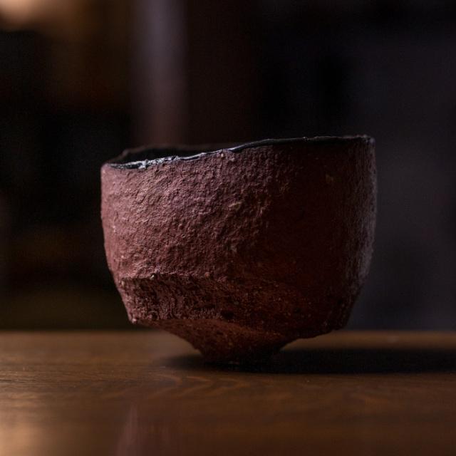 赤/黒茶碗 作家「横山拓也」