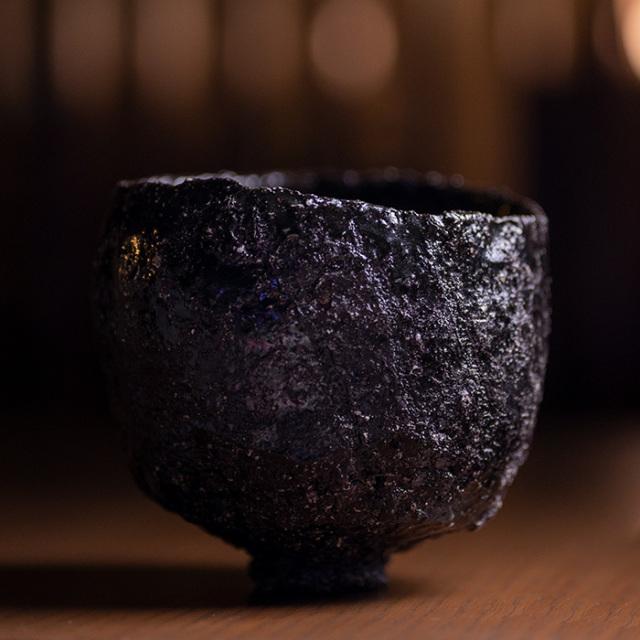 黒茶碗 陶芸家「横山拓也」