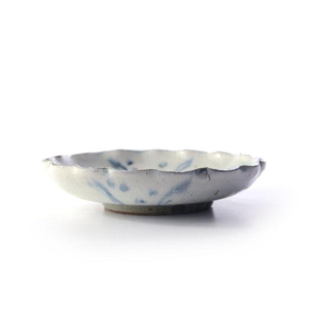 和食器 安南輪花5寸深皿 作家「荒木義隆」
