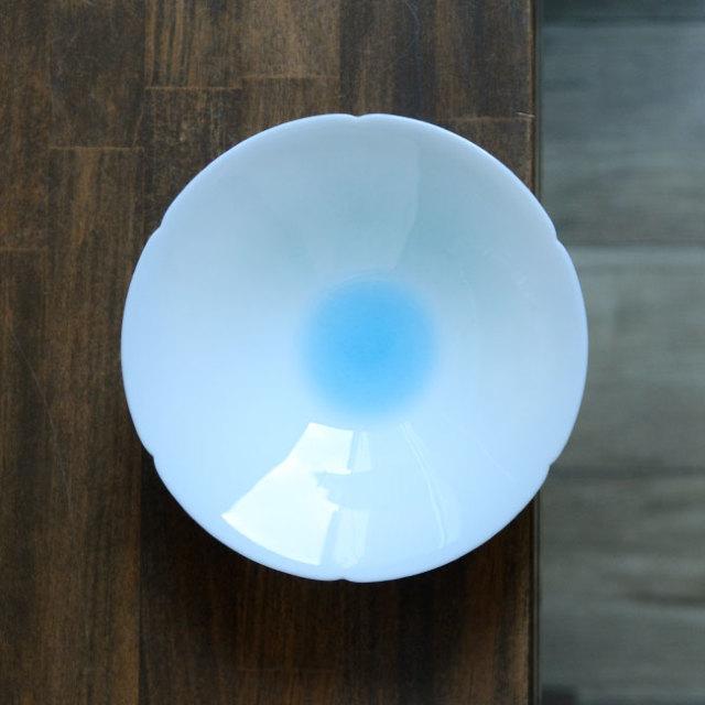青白磁鉢5.5寸(YN-013) 作家「永草陽平」