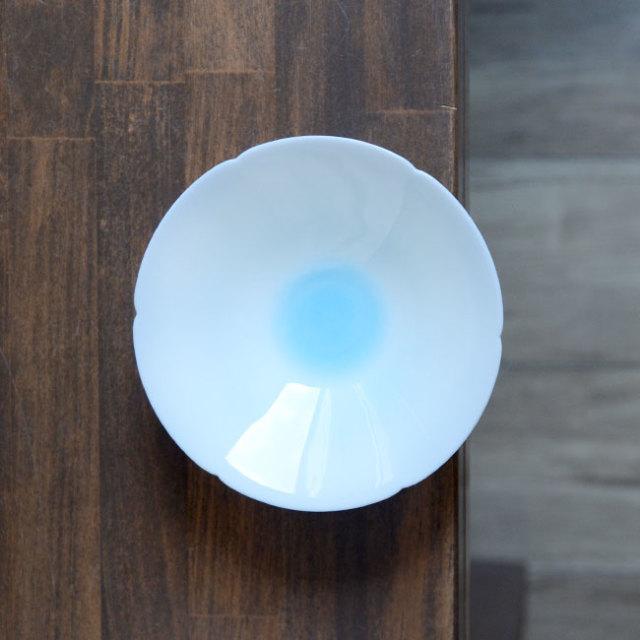 青白磁鉢4.5寸(YN-014) 作家「永草陽平」
