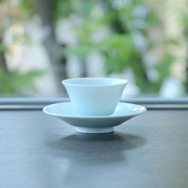 青白磁茶器揃(YN-022) 作家「永草陽平」