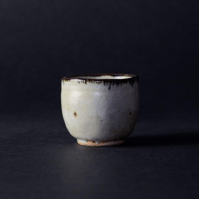 皮鯨ぐい呑(共箱付A) 作家「瀬津義雄」