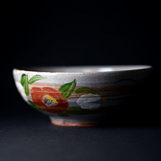 【共箱付】色絵金泥鉢(YS-1636)  作家「瀬津義雄」