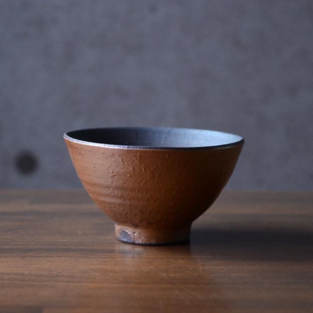 和食器 焼締ごはん茶碗 作家「多屋嘉郎」