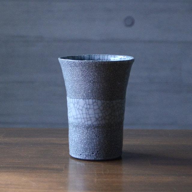 和食器 貫入釉掛分フリーカップ(YT-045) 作家「多屋嘉郎」