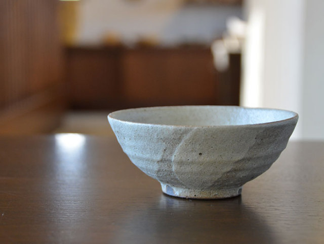 灰釉碗 作家「多屋嘉郎」