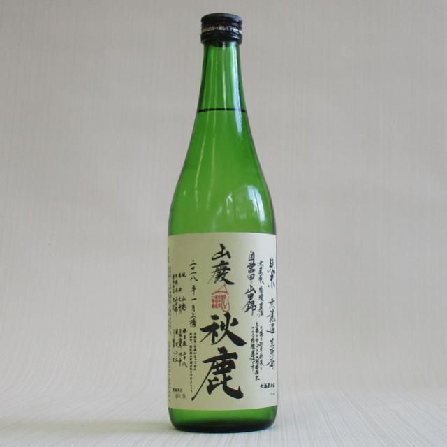 秋鹿 山田錦 へのへのもへじ 山廃純米720