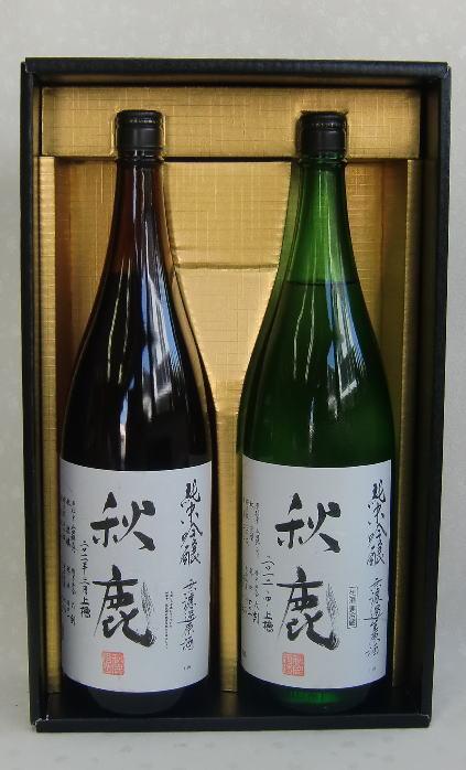 大阪の実力蔵 秋鹿 純米吟醸セット