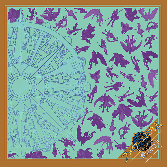 【EXPO II 通販】ファイアーエムブレム 暁の女神 暁の団スカーフ(ポストカード付)