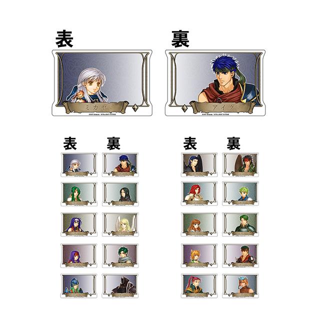 ファイアーエムブレム トレーディング リバーシブルメモスタンドクリップ/暁の女神
