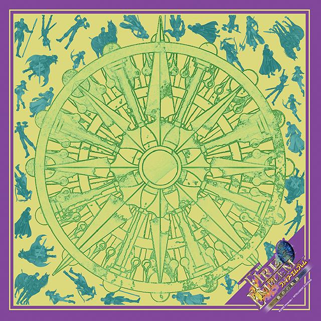【EXPO II 事前通販】ファイアーエムブレム 蒼炎の軌跡 グレイル傭兵団スカーフ(ポストカード付)
