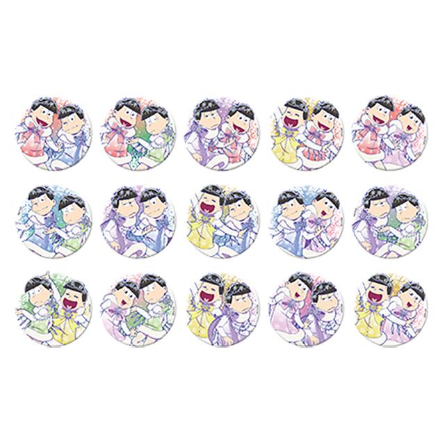 「えいがのおそ松さん」ペア缶バッジコレクション ジャック・フロストVer.(全15種)