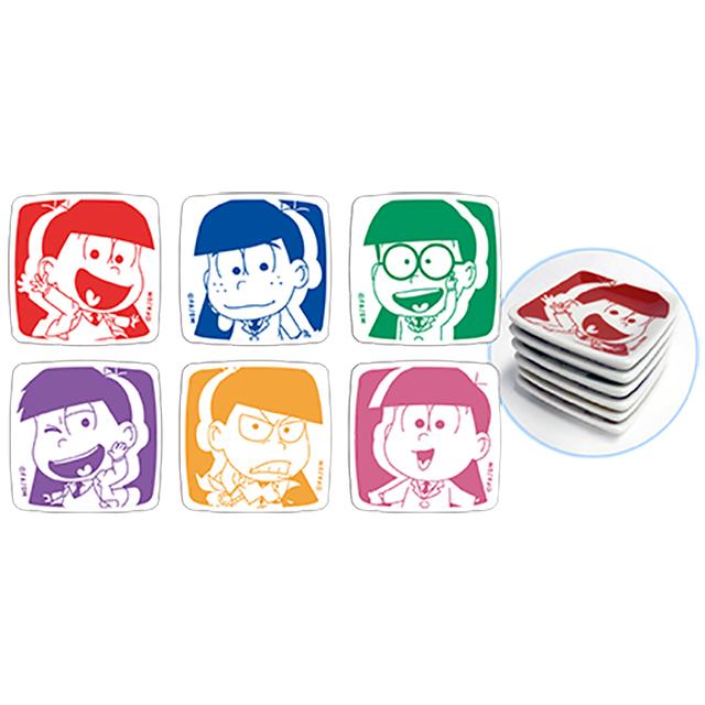 「えいがのおそ松さん」豆皿コレクション(全6種)