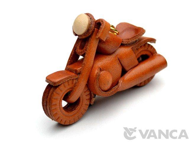 VANCA 本革レザーキーホルダー アメリカンバイク