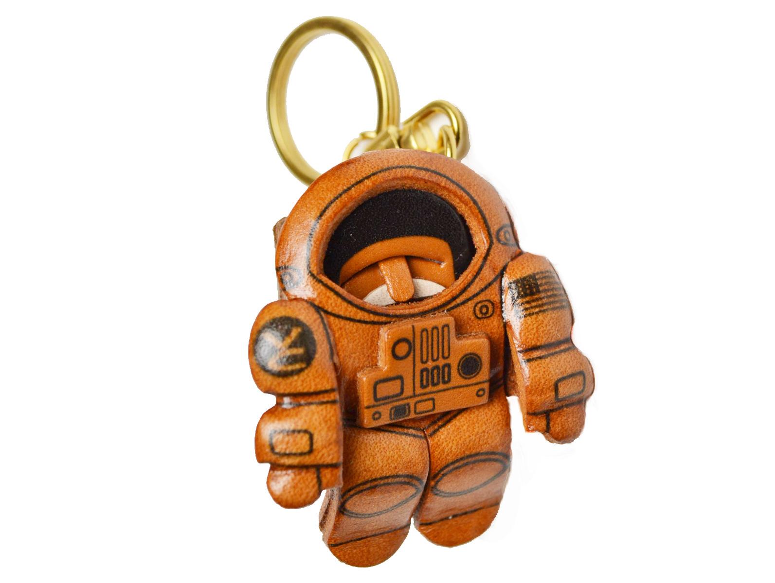 宇宙飛行士 VANCA 本革レザー キーホルダー