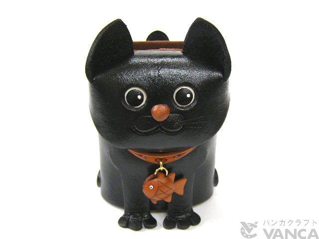 メガネ小物スタンド 黒ネコ