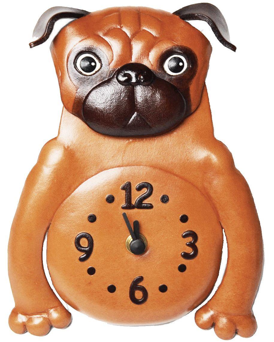 壁掛け時計 パグ