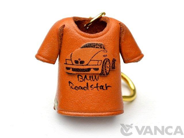 VANCA 本革レザーTシャツキーホルダー BMW