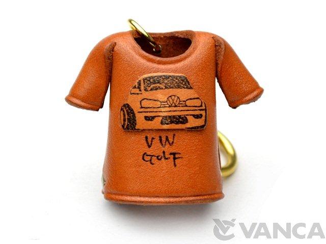 VANCA 本革レザーTシャツキーホルダー ゴルフ