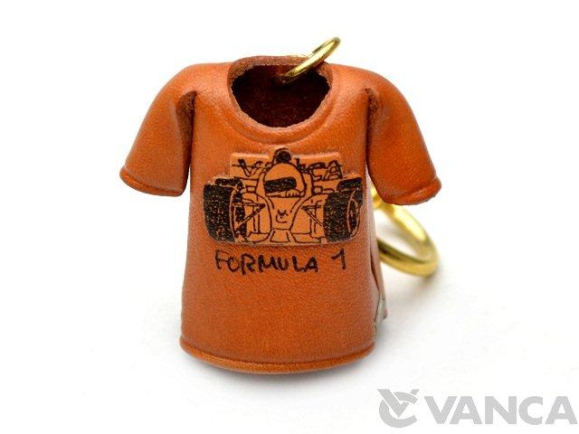 VANCA 本革レザーTシャツキーホルダー F-1