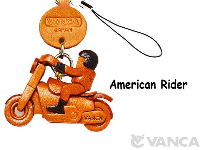 アメリカンライダー VANCA 本革レザーグッズ 携帯ストラップ