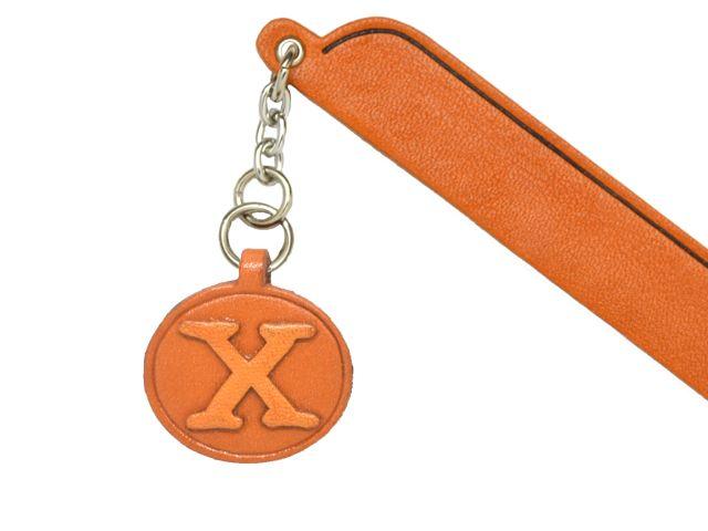 X VANCA 本革チャームブックマーカー