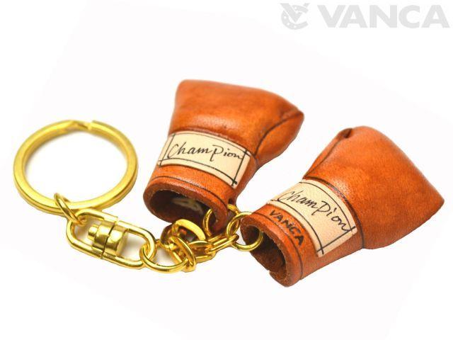 ボクシンググローブ VANCA 本革レザー キーホルダー
