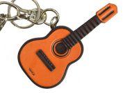 ギター 革雑貨 バッグチャーム キーホルダー VANCA バンカクラフト