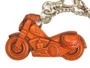 アメリカンバイク 革雑貨 バッグチャーム キーホルダー VANCA バンカクラフト