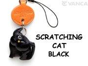 プチ黒ネコちゃん かきかき