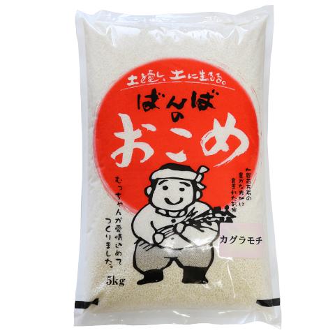 カグラモチ(特別栽培米_) 白米5kg