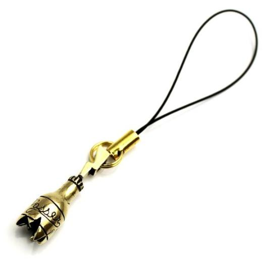 正規取扱 VASSER(バッサー) Lightning Bottle Phone Strap(ライトニングボトル携帯ストラップ)BRASS