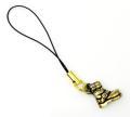 正規取扱 VASSER(バッサー) Biker Boot Phone Strap Brass(バイカーブーツ携帯ストラップブラス)