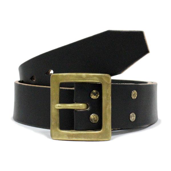 VASSER(バッサー)Mighty Leather Belt Classic Black(マイティーレザーベルト クラシックブラック)