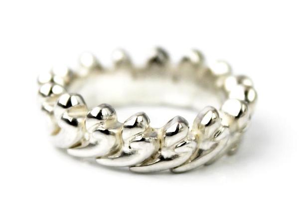 正規取扱 VASSER(バッサー)Hearts lei Ring(ハーツレイリング)