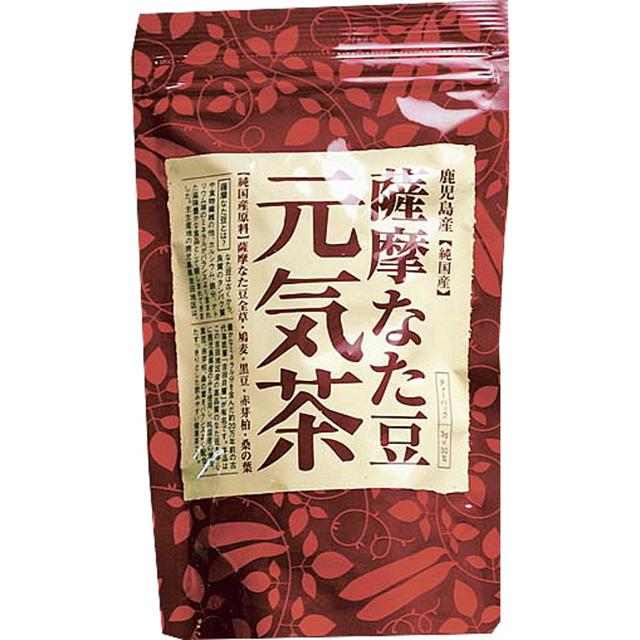 ヨシトメ産業)薩摩なた豆元気茶 3g×30包【賞味2019年10月】